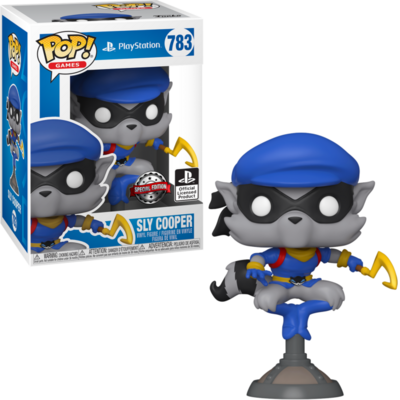 Funko Pop! Sly Cooper (Special Edition) - Playstation