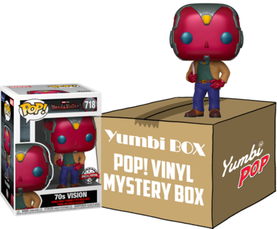 Yumbi Mystery Box - Vision 70s (Special Edition) + 5 POP!