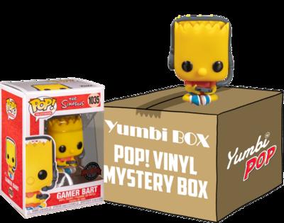 Yumbi Mystery Box - Gamer Bart (Special Edition) + 5 POP!