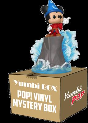 Yumbi Mystery Box - Funko Pop! Sorcerer Mickey Movie Moments 481 + 2 POP!