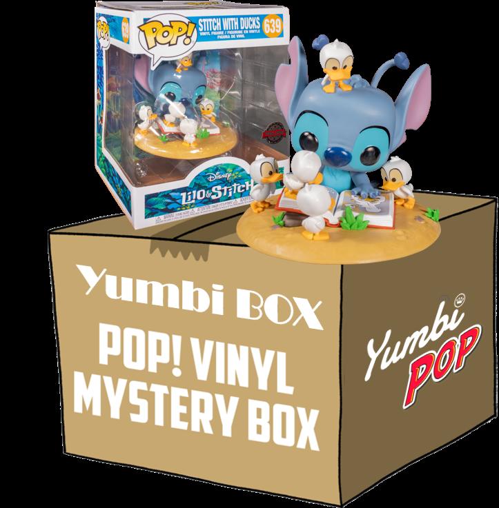 Yumbi Mystery Box Stitch with Ducks Deluxe - Lilo y Stitch + 2 Pops!