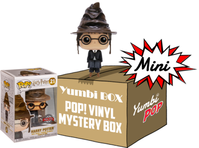 Mini-Yumbi Mystery Box Harry Potter Sorting Hat (Special Edition) + 2 Pops! Aleatorios