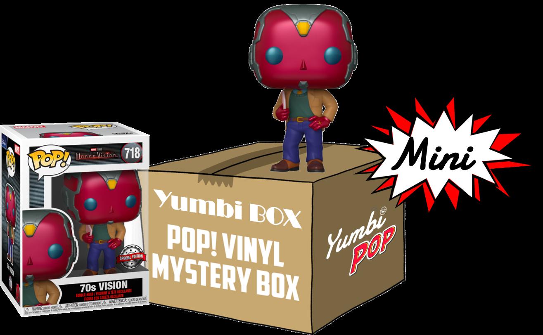 Mini-Yumbi Mystery Vision 70s + 2 Pops! Aleatorios