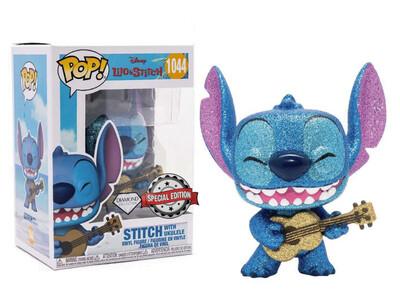 Funko Pop! Stitch con Ukelele (Diamond) - Lilo & Stitch (Disney)