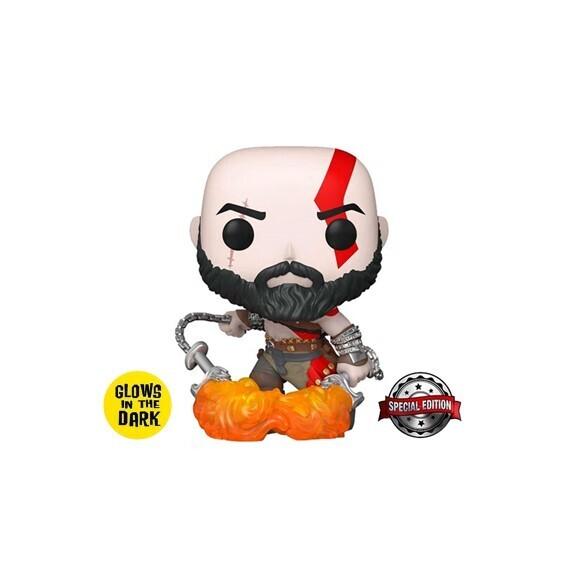 Funko Pop! Kratos (Glow in the Dark) - God of War (PlayStation)