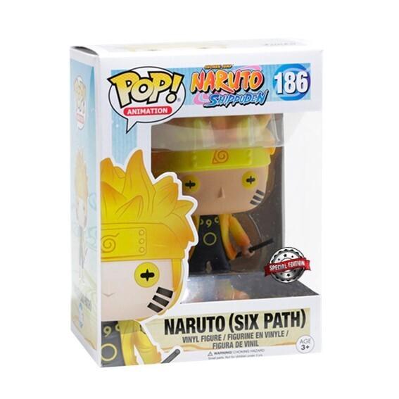 (Caja dañada) Funko Pop! Naruto (Six Path) Glow in the Dark - Naruto Shippuden