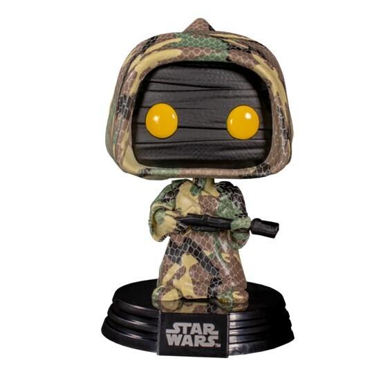 Funko Pop! Jawa (Futura) con caja protectora - Star Wars (Edición Especial)