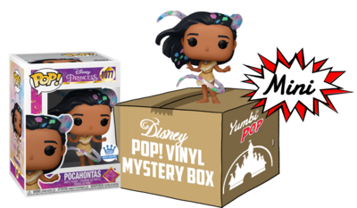 Mini Yumbi-Mystery Box Pocahontas (EXC) + 2 pop! Disney