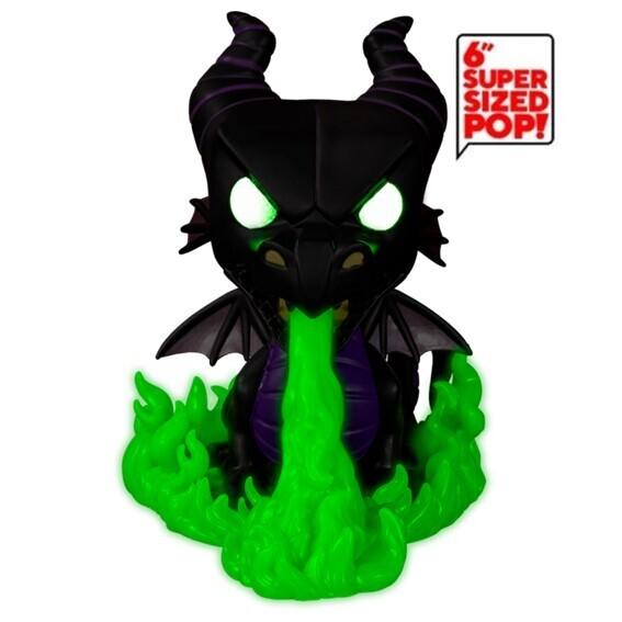 Funko Pop! 6'' Maleficent as Dragon (Glow in the Dark) - Disney