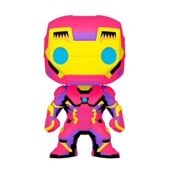 Funko Pop! Iron Man (Black Light) - Marvel