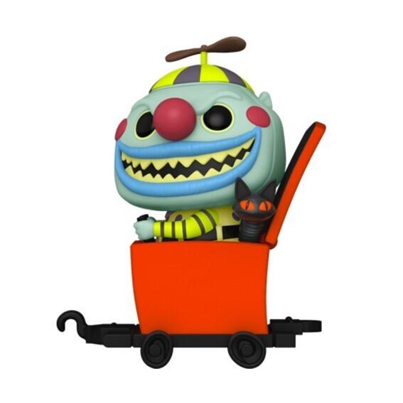 Funko Pop! Clown in Jack-in-the-box Cart - Disney