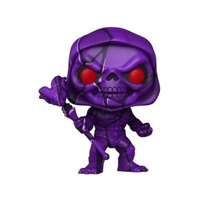 Funko Pop! Skeletor Art Series con protector rígido 17- Masters of the Universe