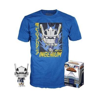 Funko Pop! Tenya Iida (Ingenium) + Camiseta Exclusiva - My Hero Academia