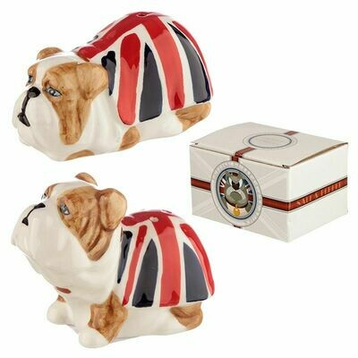 British Bulldog Cruet Set