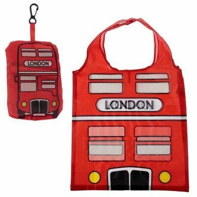 London Bus Foldable Shopping Bag