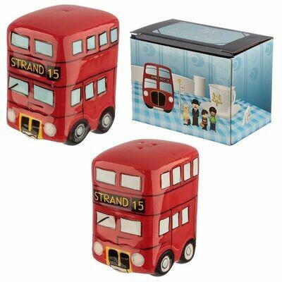 London Bus Cruet Set