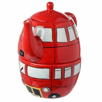 London Bus Tea For One Set