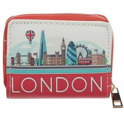 London Icons Zip Purse