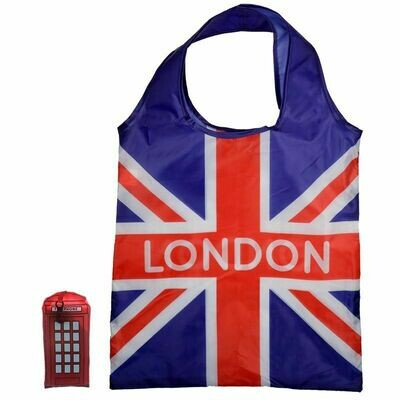 London Telephone Foldable Shopping Bag