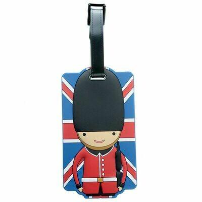 Union Jack Guardsman Luggage Tag