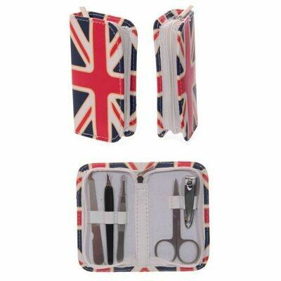 Union Jack Mini Manicure Set