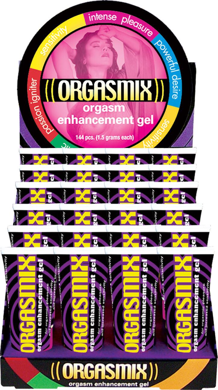 Orgasmix - 24 Piece Display - 1 Oz. Tubes