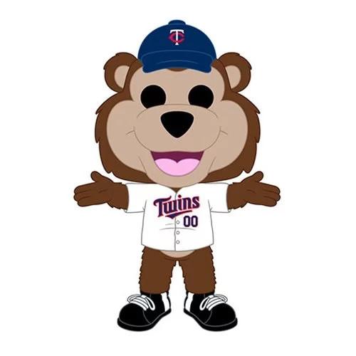 Funko MLB Minnesota Twins T.C. Bear Pop! Vinyl Figure