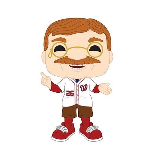 Funko MLB Washington Nationals Teddy Roosevelt Pop! Vinyl Figure