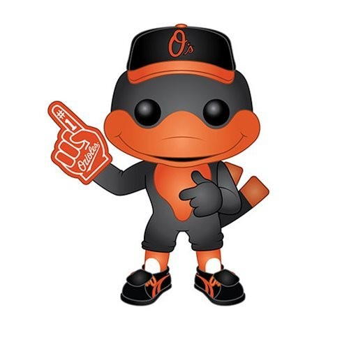 Funko MLB Baltimore Orioles The Oriole Bird Pop! Vinyl Figure