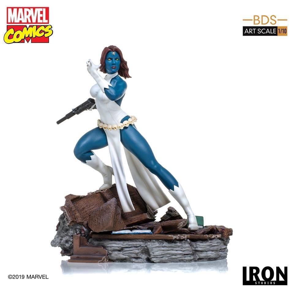 Iron Studios Mystique BDS Art Scale 1/10 - Marvel Comics Series 5