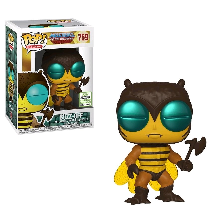 Funko Masters of the Universe - Buzz-Off Pop! Vinyl Figure (2019 Spring Convention Exclusive) ***FULL PAYMENT ONLY*** 2nd batch