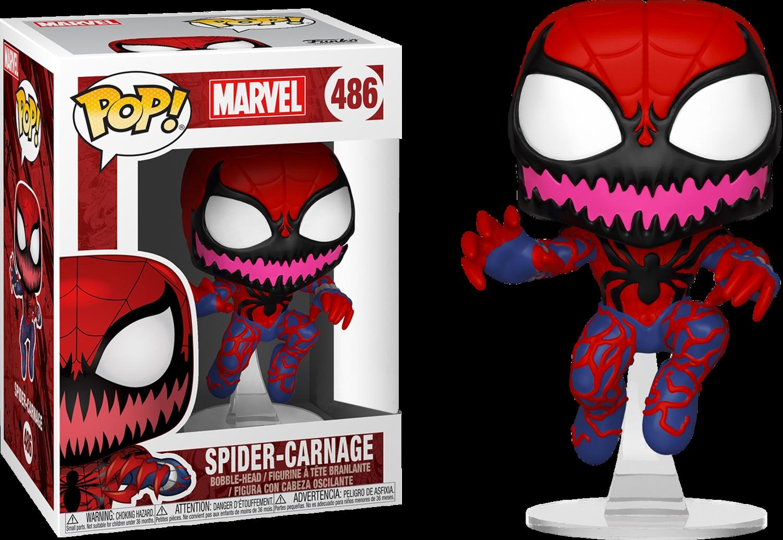 Funko Spider-Man - Spider-Carnage Pop! Vinyl Figure Exclusive