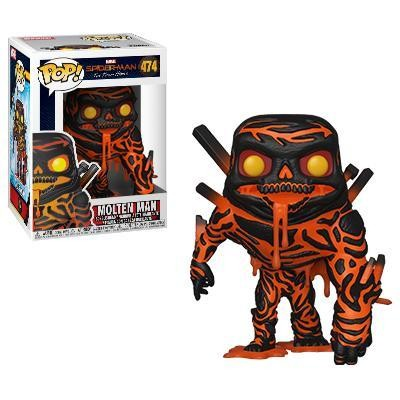 Spider-man Far from Home Molten Man Funko Pop! Vinyl Figure