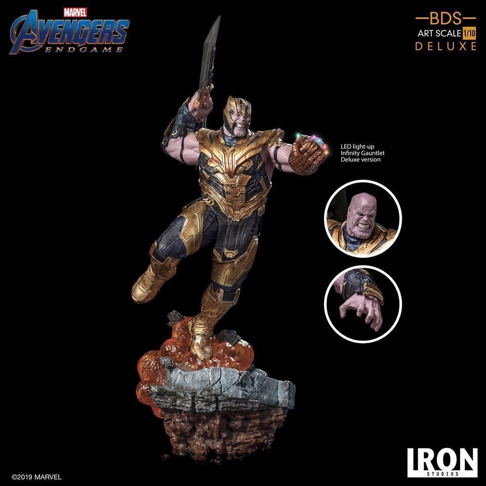 Iron Studios Thanos Deluxe BDS Art Scale 1/10 - Avengers Endgame