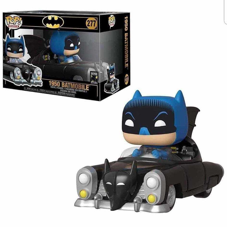 Funko Batman 1950 Batmobile 80th Anniversary Pop! Vinyl Vehicle