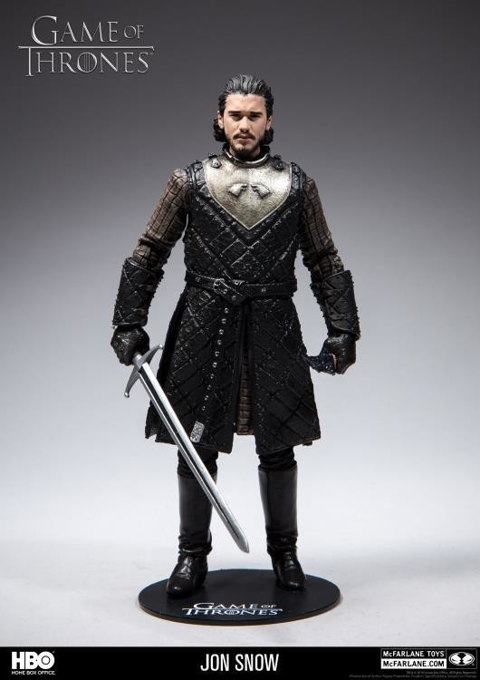 "Mcfarlane Game of Thrones: 6"" Action Figure Season 7 Jon Snow"