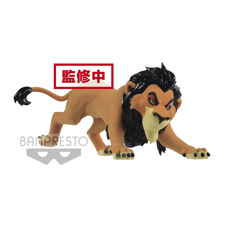 Banpresto Disney Character Fluffy Puffy LION KING side Villains Scar