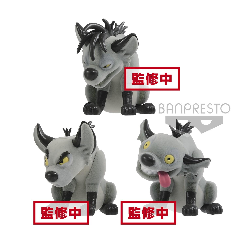 Banpresto Disney Character Fluffy Puffy LION KING side Villains Banzai, Shenzi, & Ed