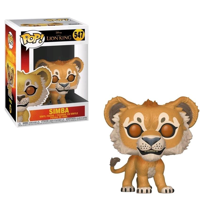 Funko Lion King (2019) - Simba Pop! Vinyl Figure