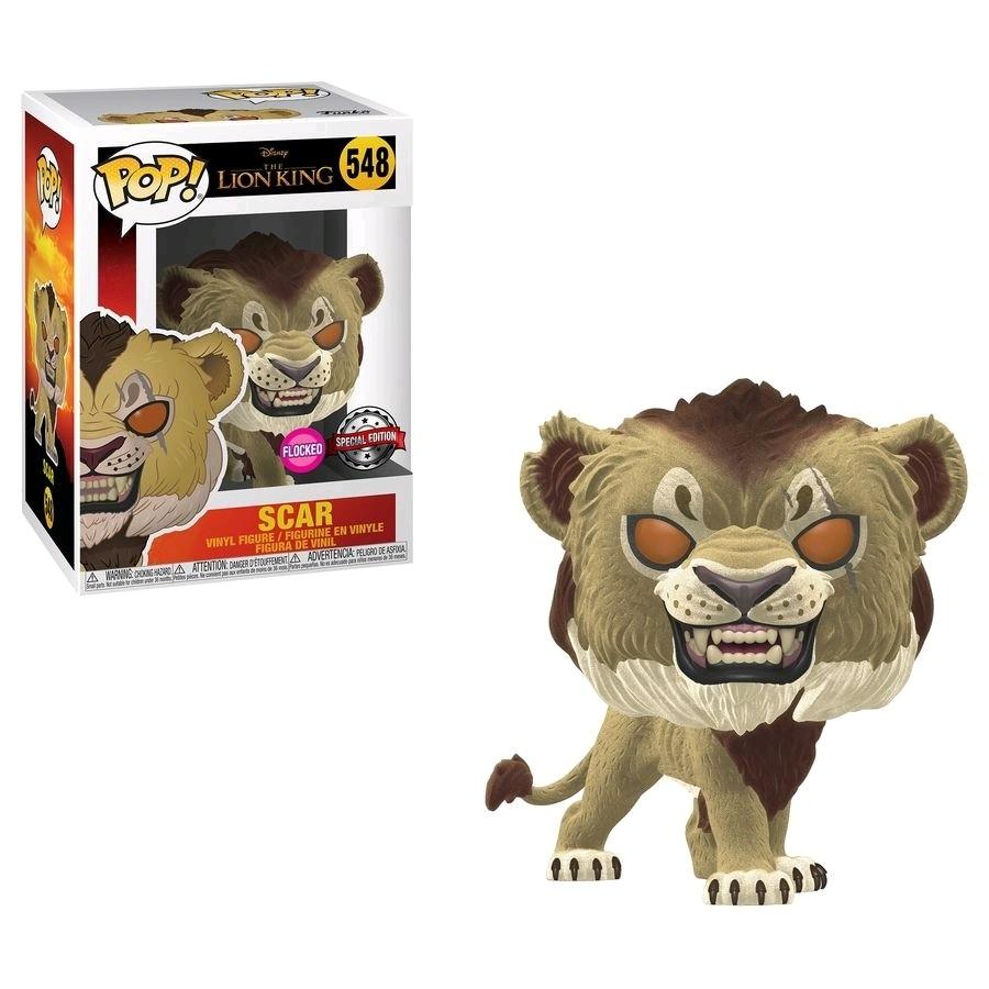 Funko Lion King (2019) - Scar Flocked Exclusive Pop! Vinyl Figure
