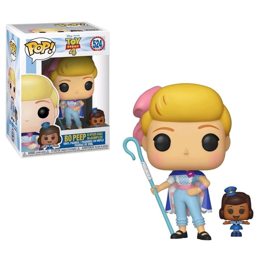 Funko Toy Story 4 - Bo Peep & Officer McDimples Pop! Vinyl Figure