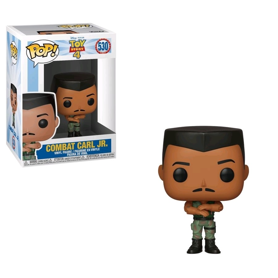 Funko Toy Story 4 - Combat Carl Jr Pop! Figure