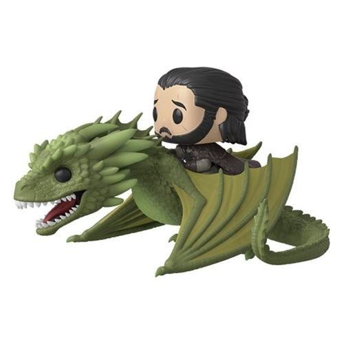 Funko Game of Thrones Rhaegal Pop! Vinyl Ridez with Jon Snow Figure