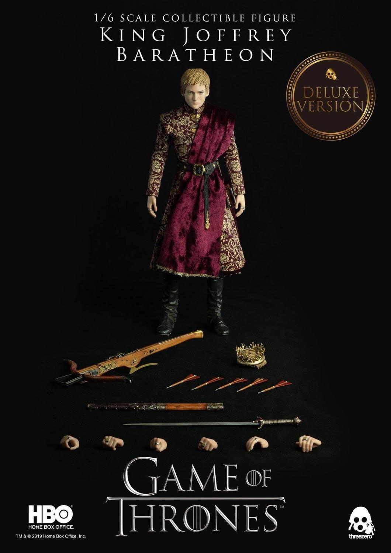 Threezero Game of Thrones Jofrrey Baratheon 1/6th Scale Deluxe Collectible Figure