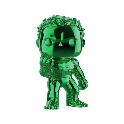 Avengers 4: Endgame - Hulk with Infinity Gauntlet Green Chrome Pop! Vinyl Figure