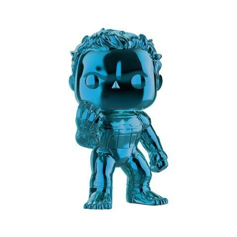 Funko Avengers 4: Endgame - Hulk with Infinity Gauntlet Blue Chrome Pop! Vinyl Figure