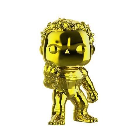 "PRE-ORDER Avengers 4: Endgame - Hulk with Infinity Gauntlet Yellow Chrome Super Sized 6"" Pop! Vinyl Figure"