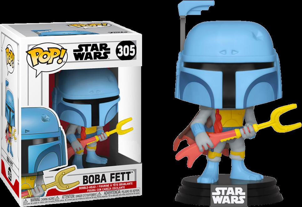 Funko Star Wars - Boba Fett Animated Pop! Vinyl Figure