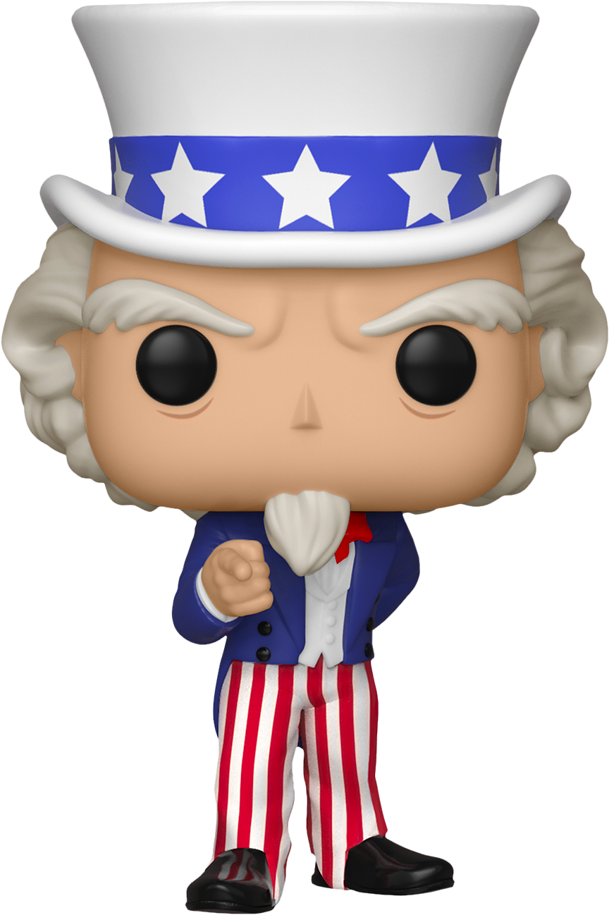 PRE-ORDER Exclusive American History - Uncle Sam Pop! Vinyl Figure