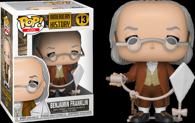 American History - Benjamin Franklin Pop! Vinyl Figure